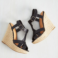 Altitude is Everything Wedge | Mod Retro Vintage Heels | ModCloth.com