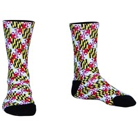 Maryland Flag Athletic Crew Socks