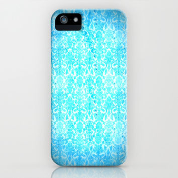 Turquoise Wallpaper  iPhone & iPod Case by 2sweet4words