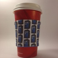 Doctor Who TARDIS Beverage Cup Cozy