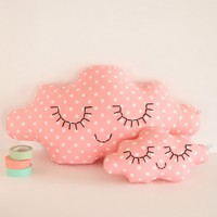 Zü - Cloud Pillow Sweet Pink - Poetic room decoration for children - French Blossom