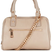Medium Flat Chain Bowling Bag - Bags & Wallets  - Bags & Accessories