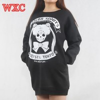Sailor  Women  Hoodies  Cosplay  Anime  Japan  Black