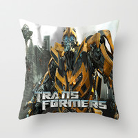 Transformers Throw Pillow by Giftstore2u