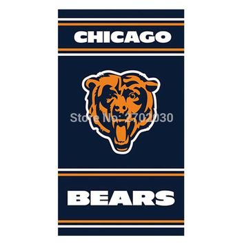 Hanging Chicago Bears Flag Banners Football Team Flags 3x5 Ft Super Bowl Champions Banner Red Star 90 X 150 Decoration Polyester