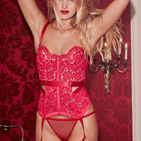 Satin & Lace Corset - Very Sexy - Victoria's Secret