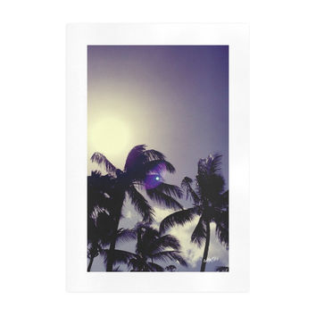 Art Print . Purple Moon