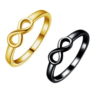 Eternity Ring Charms Best Friend Gift Infinity Ring Endless Love Symbol Fashion Rings For Women