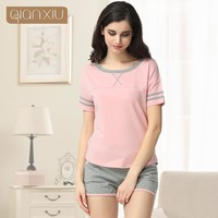 Qianxiu Cotton Pajama Sets For women