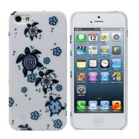Fosmon SLIM Series Design Crystal Case for Apple iPhone 5 / 5S (Sea Turtle)