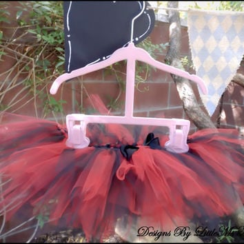 "Red Tutu For Little Girls Baby Girls and Toddler GIrls "" Tutu En Rouge"" Infant Photography"