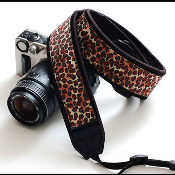 Not so boring SLR camera strap in Interchangeable Design     by sizzlestrapz