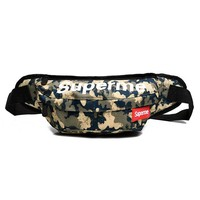 Men's and Women's Supreme Chest Pockets Oxford Casual Riding Bag  064