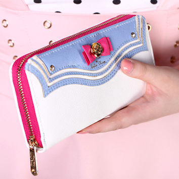 Floral Pu Wallet For Women W0013