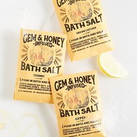 Wild Honey Apothecary Gem & Honey Infused Bath Salts
