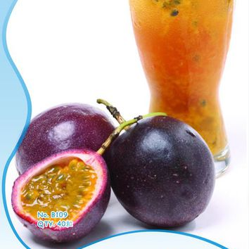 original package 40 pieces/bag fruit passion fruit seeds, rare garden bonsai plum fruit seeds