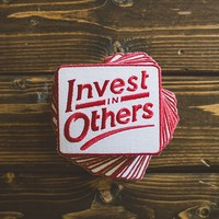 Invest In Others Patch - Take Heart Apparel Co.