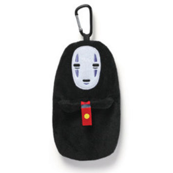 SPIRITED AWAY - NO FACE PLUSH POUCH CLIP
