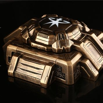 YOURNELO Creative SC Starcraft Cigarette Ashtray Holder with Lid for Home