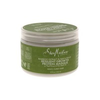 Bamboo Extract & Maca Root Resilient Growth Protein Masque Shea Moisture 12 oz Masque For Unisex - Walmart.com