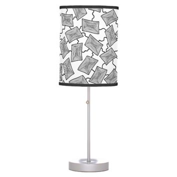 Geometric Cells Table Lamp