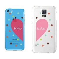 Besties Clear Best Friend Matching Phone Cases - 365 Printing Inc