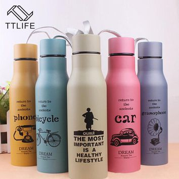 Thermos Bottle Leak Proof Stainless Steel Sport Bottle Bicycle Camping Sport Water Bottle Double Vacuum Kettle