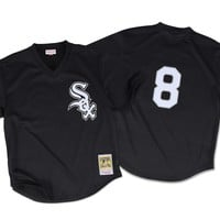 Mitchell Ness Bo Jackson 1993 Authentic Mesh BP Jersey Chicago White Sox In Black