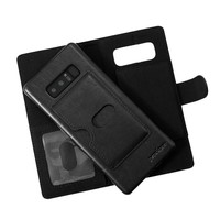 Prodigee Wallegee Credit Card phone Case for Samsung Galaxy Note 8 - Black