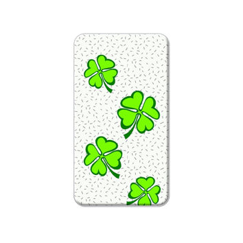 Lots of Luck - Lucky Irish Four Leaf Clover Lapel Hat Pin Tie Tack