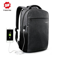 2017 Summer Tigernu Anti-thief USB charging Laptop Backpack youth backpack for women male bagpack school Bag for Men Mochila