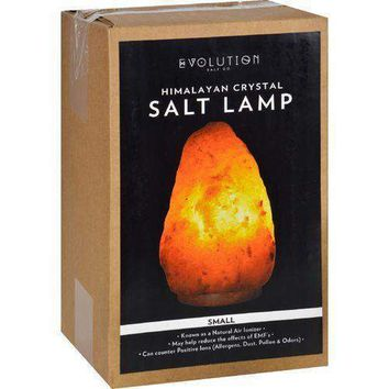 Evolution Salt Crystal Salt Lamp  Natural  6 lbs  1 Count