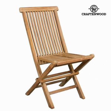 Teak folding chair  by Craften Wood