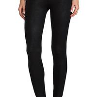krisa Coated Legging in Black