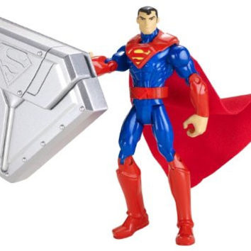 "Superman Steel Shield 4"" Action Figure"
