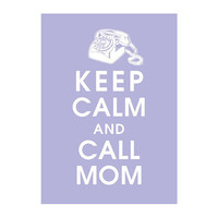 Keep Calm and Call Mom  Vintage Rotary Phone 5x7 by KeepCalmShop