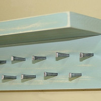 Jewelry Storage Holder Shelf Necklace Organizer Gray Jade Wall Shelf  Jewelry Organization
