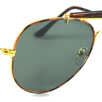 Retro Aviator Sunglasses Richman Luxury Fashion Metal Gold Frame