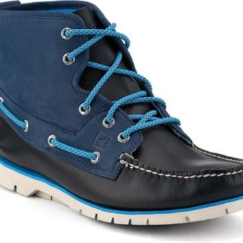 Sperry Top-Sider Boat Lite Boot NavyLeather/IndigoNubuck, Size 7M  Men's