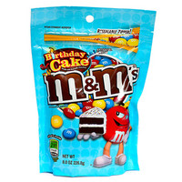 Birthday Cake M&M's Candy: 8-Ounce Bag
