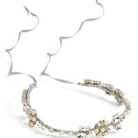 Nestina Accessories 'Elna' Crystal Vine Head Piece | Nordstrom