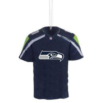 DCCK8X2 Seattle Seahawks Official NFL Resin Jersey Ornament