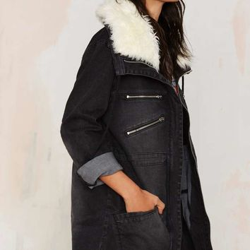 Somedays Lovin Thrills Denim Parka