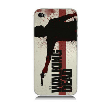 The Walking Dead protector sticker decal skin for IPhone 4 4S 5