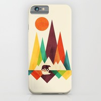 Bear In Whimsical Wild iPhone & iPod Case by Picomodi