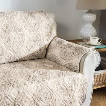 DriftAway Adrianne Water Resistant Quilted Sofa Slipcover | Overstock.com Shopping - The Best Deals on Sofa Slipcovers