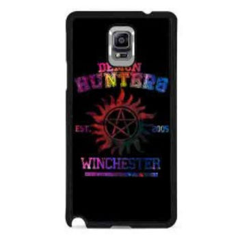 supernatural demon hunters galaxy for samsung galaxy note 4 case