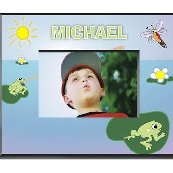 Personalized  Children's Frames - Frog