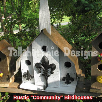 Primitive Birdhouses,Rustic Birdhouses,Metal Roof Birdhouses,Primitive Birdhouse,Rusty Roof Birdhouses,Rusty Roof Birdhoue,