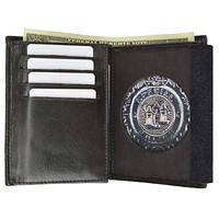 Mens Leather Wallet Badge ID Holder 2515 TA (C)